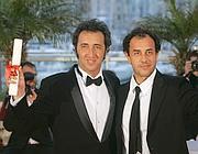 Sorrentino e Garrone a Cannes (Ansa)