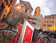 Bike sharing a Roma: le nuove bici saranno verdi non più rosse (foto Jpeg)
