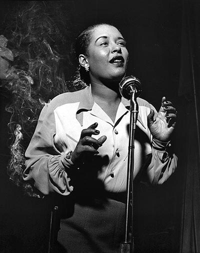 BILLY HOLIDAY OMAGGIO