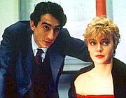 Sergio Rubini e Margherita Buy in una scena de La stazione