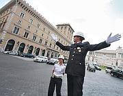 Il maresciallo Cosimo Spinelli in azione (Jpeg)