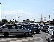Traffico sul lungomare di Ostia (Faraglia)