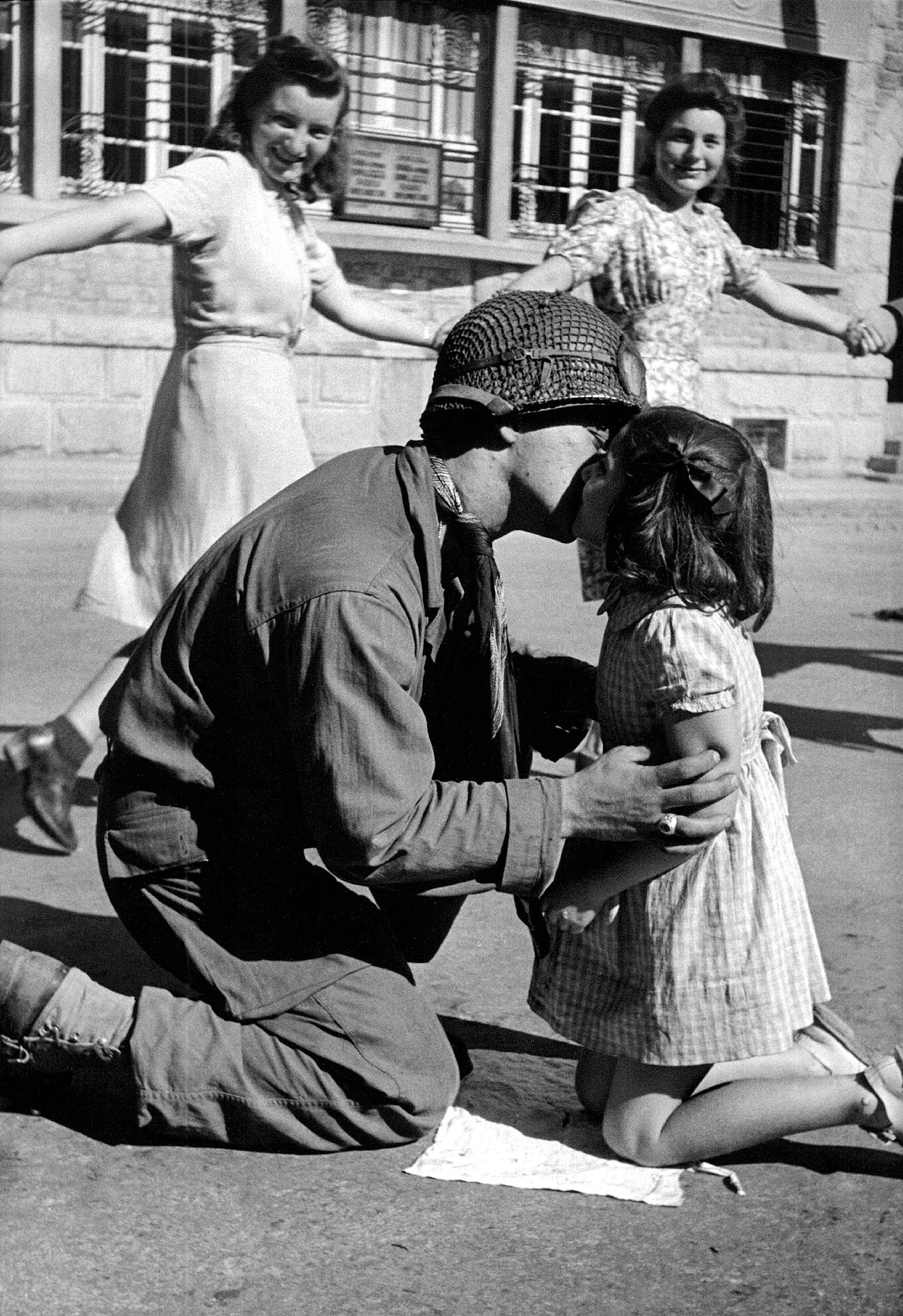 Toy Vaccaro, «Il bacio della Liberazione»