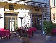 Il ristorante il Passetto in via Zanardelli, dietro piazza Navona
