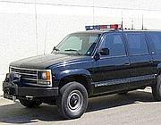 Un suv destinato a trasporto di apparecchi «jammer» anti bomba