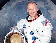 Buzz Aldrin, l'astronauta della Missione Apollo 11 (Foto Internet)