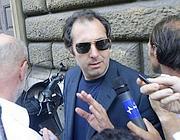Giorgio Olmi, legale di Bianchini dopo la convalida del fermo (foto Mario Proto)
