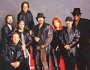 Bruce Springsteen al centro della E Street Band