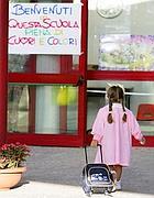 Scuola «Olga Rovere» (Ansa)