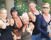 La troupe di Erotica Tour