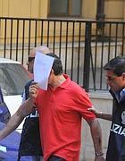 L'arresto di «Svastichella» (foto Proto)