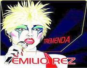 La copertina del singolo «Tremenda» di Emilio Rez (dal  web)