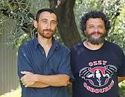 I Manetti Bros, registi della serie tv (Ansa)