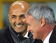 Spalletti lascia la panchina a Ranieri (Ansa)