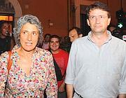 Paola Concia e Dario Franceschini (foto Proto)