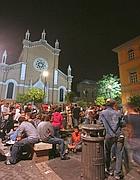 Movida in piazza Santa Maria in Trastevere (Jpeg)