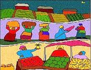 Un disegno tratto dal commercio equo e solidale