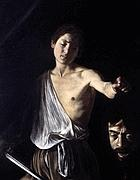 «David con la testa di Golia» di Caravaggio