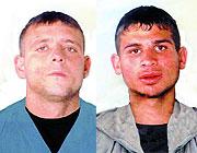 I due imputati: Oltean Gavrila e Ionut Jean Alexandru (foto Proto)