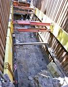 La scoperta è stata resa possibile dopo il ritrovamento, due anni fa, di una scalinata in cemento romano ricoperto in marmo (Jpeg)