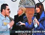 Un frame delle interviste di Canale 5