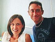 Ilaria e Stefano Cucchi in una foto di qualche anno fa (Ansa)