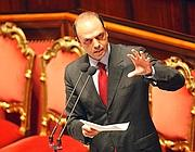 Il ministro Alfano (Ansa)