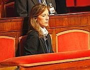 Ilaria Cucchi in Senato (Ansa)