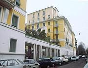 Il palazzo di via Poma, a Roma, dove fu trovato il corpo di Simonetta Cesaroni (Proto)