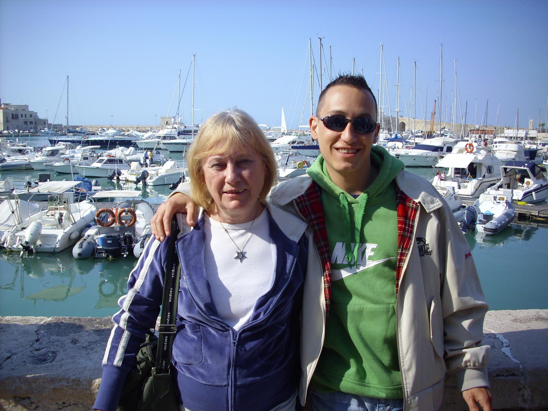 Stefano Cucchi con la madre