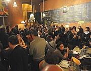 La folla all'Open Balladin per il, libro di Sigrid (foto della Corte/foodrepublic)