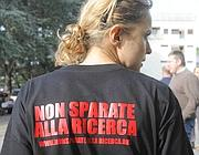 Appello per la ricerca sulla maglietta di uno dei precari Ispra (Omniroma)