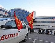 La sede di Eutelia occupata sulla via Tiburtina (Jpeg)