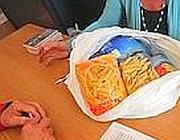 Distribuzione gratuita di pacchi viveri a Sant'Egidio