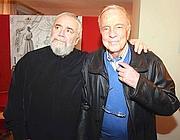 Franco Zeffirelli con Gianluigi Gelmetti (Infophoto)