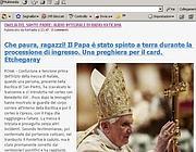 L'annuncio sul blog degli amici di Papa Ratzinger