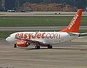Un aereo della Easyjet