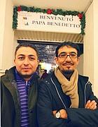 Qorbali e Boban, i due immigrati che siederanno a tavola con il Papa (Jpeg)