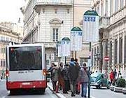 La fermata vicino a Palazzo Grazioli che verrà soppressa (Eidon)