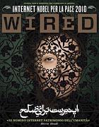 La copertina di «Wired Italia» che candida Internet al Nobel per la Pace 2010