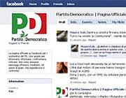 La pagina del Pd su Facebook