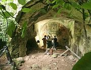 Immagine tratta dal documentario 'Roman Aqueduct Hunting in the Twenty first Century' prodotto e distribuito da MEON-TV (Ansa)