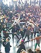 Stazione Termini a Roma: il primo grande flashmob della capitale