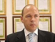 Il capo della Mobile di Viterbo Fabio Zampaglione (Proto)