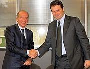 L'ad di Consip, Danilo Broggi e Pietro Scott Jovane, ad di Microsoft Italia