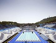 La piscina del Foro Italico usata per i Mondiali  di nuoto (Eidon)