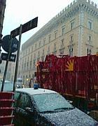 Neve in piazza Venezia (Zanini)