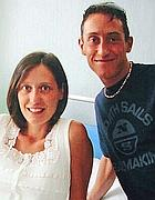 Stefano Cucchi con la sorella Ilaria
