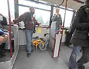 Con la bicicletta sull' autobus 810 (Proto)