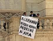 Contestazione in Campidoglio all'epoca della nomina di Andrini a Ad di Ama-Servizi
